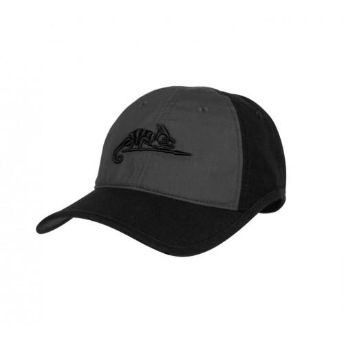 Helikon Tex - Logo CAP - Polycotton Ripstop SHADOW GREY/BLACK