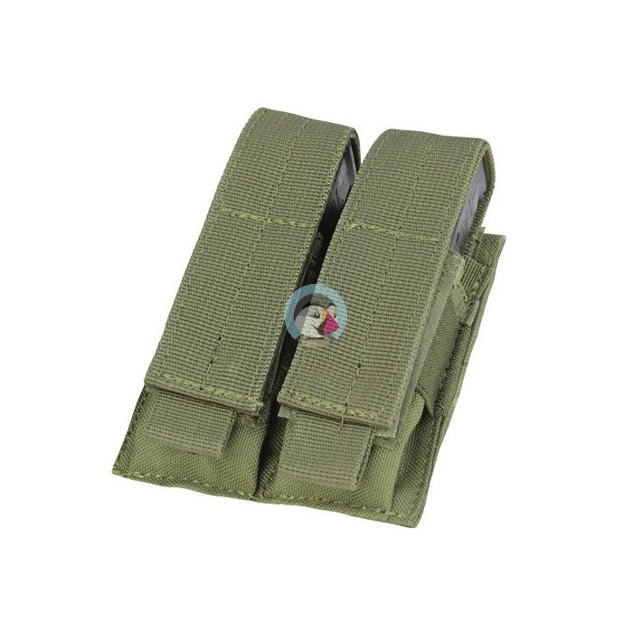 CONDOR - Double Pistol Mag Pouch OD Green