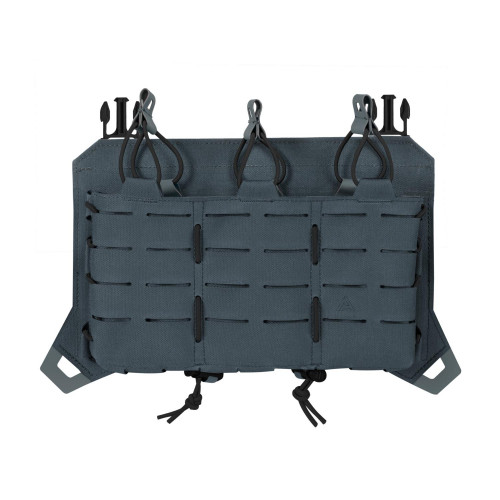 Direct Action® - SPITFIRE TRIPLE RIFLE MAGAZINE FLAP Shadow Grey