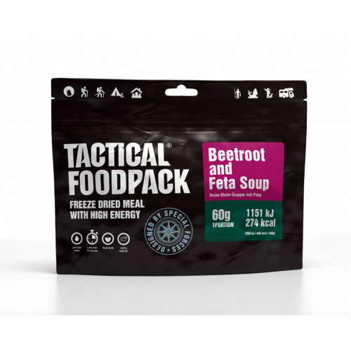 Tactical FoodPack - Beetroot and Feta Soup