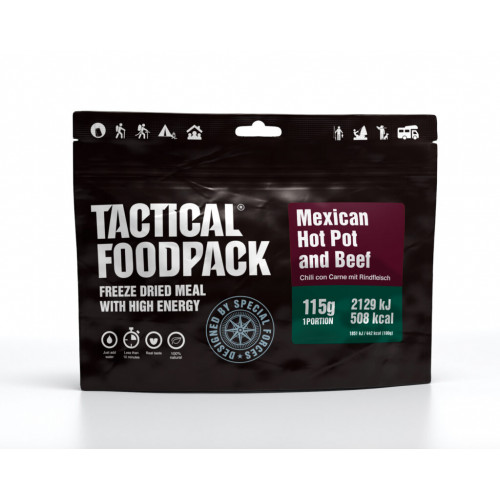 Tactical Foodpack - Mexican Hot Pot and Beef 115g