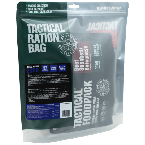Tactical Foodpack - 1 Meal Ration Echo 346g