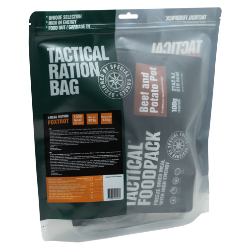 Tactical Foodpack - 1 Meal Ration Foxtrot 331g
