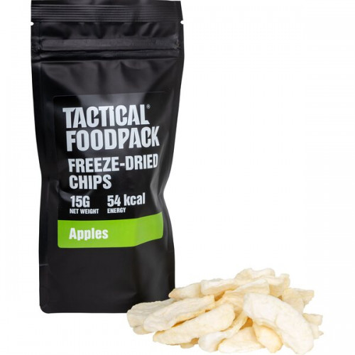 Tactical Foodpack - Freeze-Dried Apple Chips 15g