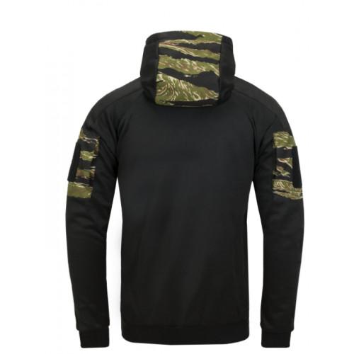 Helikon Tex - ROGUE Hoodie (FullZip) - Black / Tiger stripe