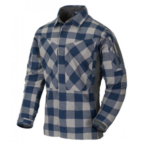 Helikon Tex - MBDU FLANNEL SHIRT - Slate Blue Checkered
