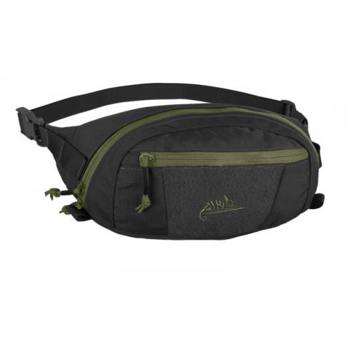 Helikon Tex - BANDICOOT Waist Pack - Cordura -Black / Olive Green