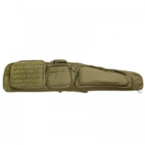 """EBERLESTOCK - Sniper Sled Drag Bag 57"""" - Dry Earth"""