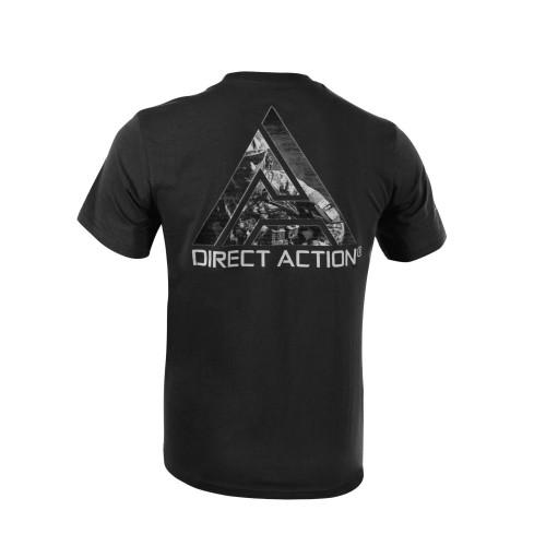 Direct Action - T-SHIRT Logo D.A.® Nr. 3 - Cotton Black