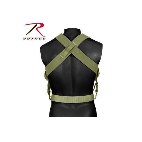 ROTHCO - Combat Suspender OD Green